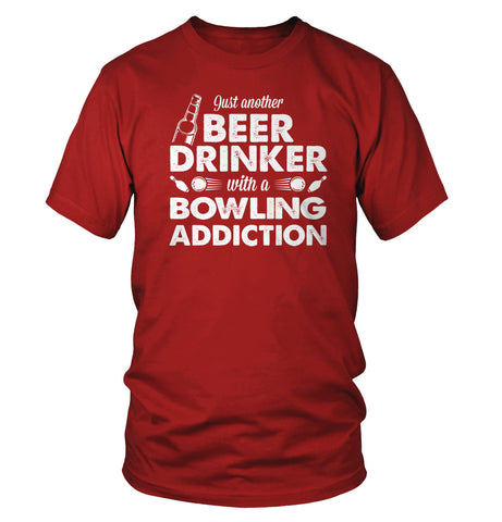 Beer Drinker with a Bowling Addiction