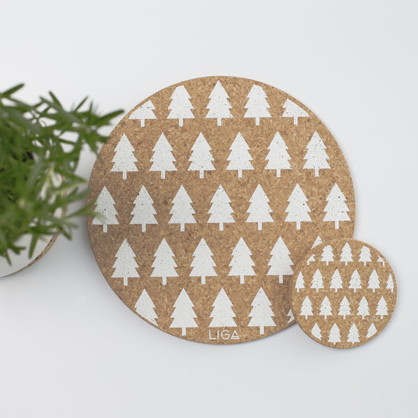Tree Placemat S/6 Gift Set