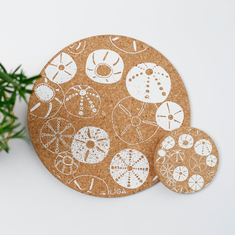 Cork Mats | Sea Urchin