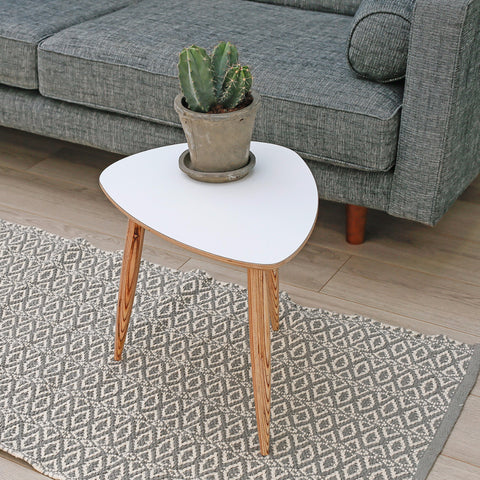 Pebble Side Table | White
