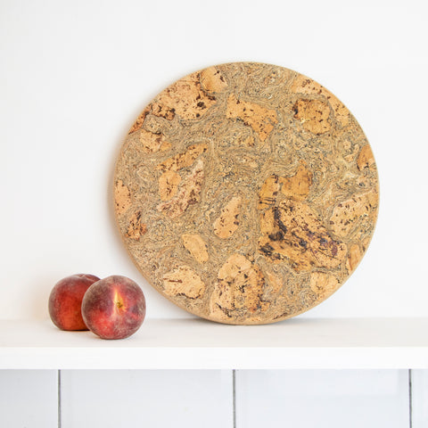 Marbled Round Trivet | Large