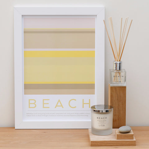 Beach Candle | Bergamot Orange & Vanilla