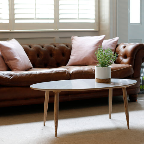 Pebble Coffee Table | Grey