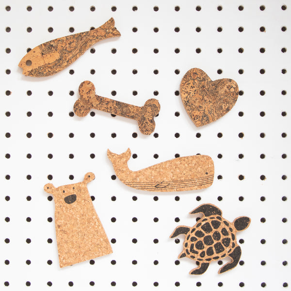 Cork Turtle Magnet