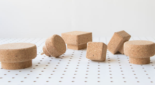 Round and Square Cork Knob Selection | LIGA