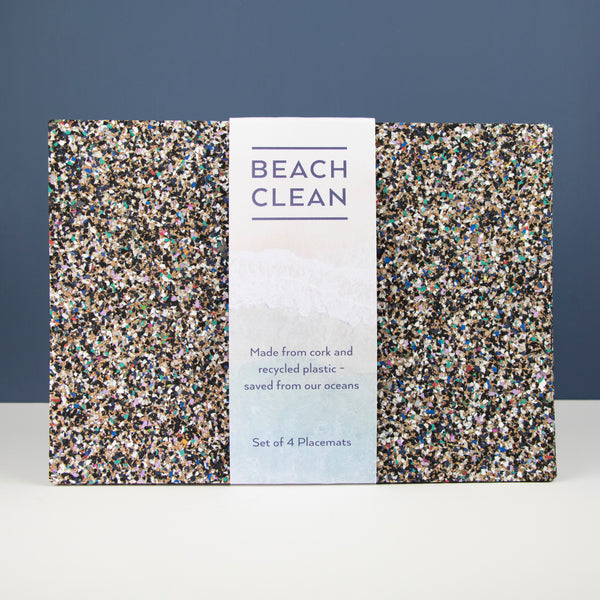 Beach Clean Placemats S/4