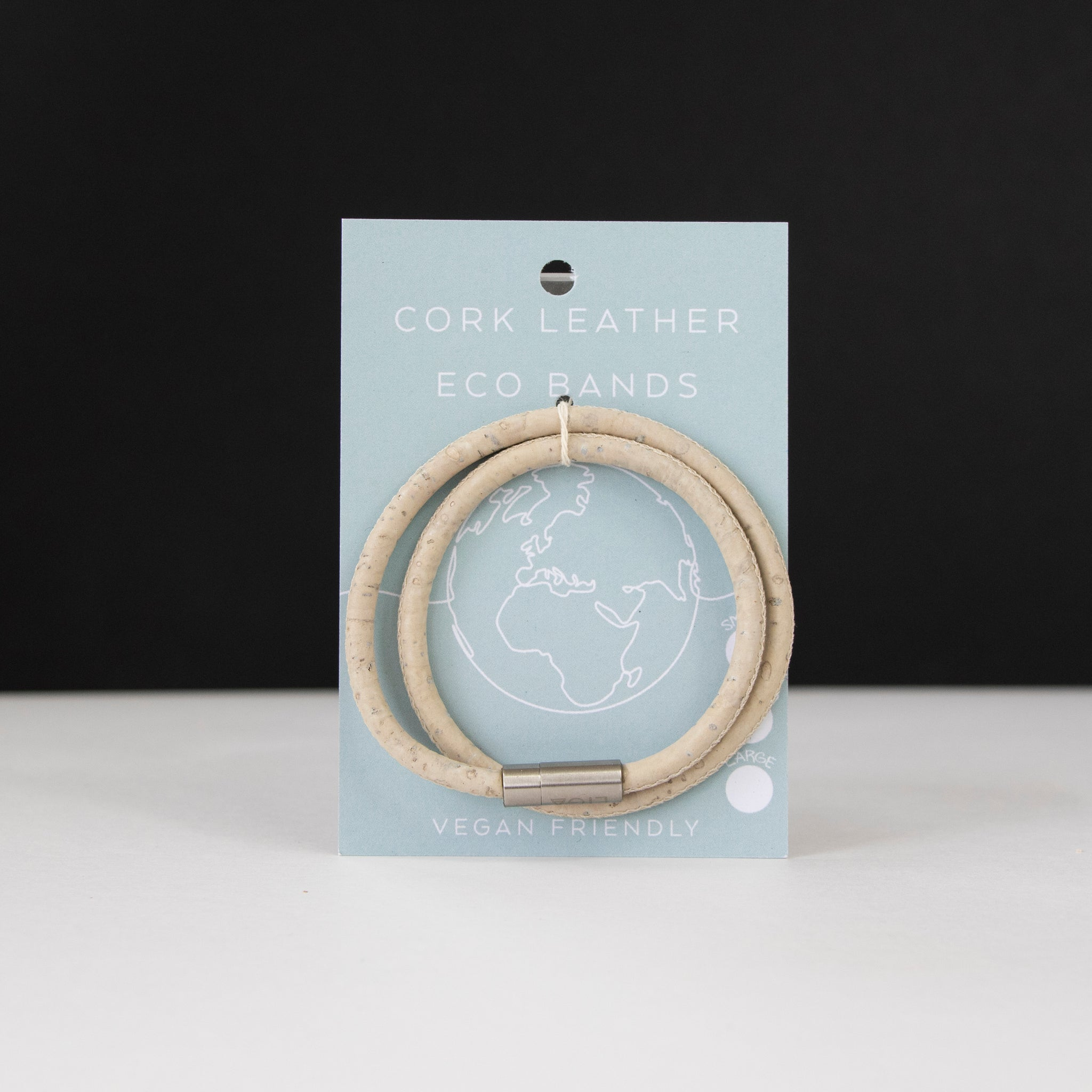 Cork Eco Band | Double White