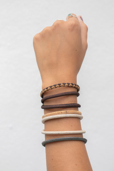 Cork Eco Band | Double Grey