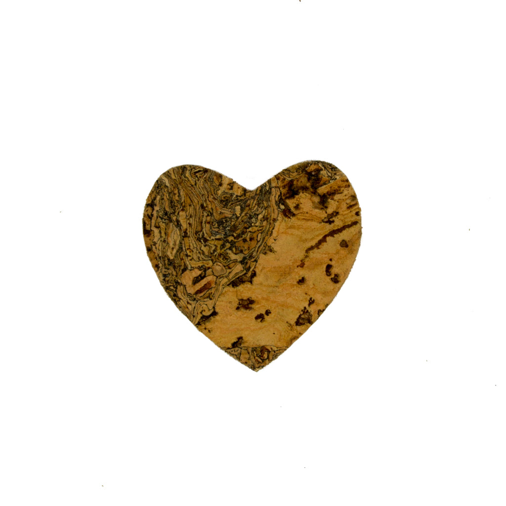 Liga Sustainable Eco Cork Heart Magnet
