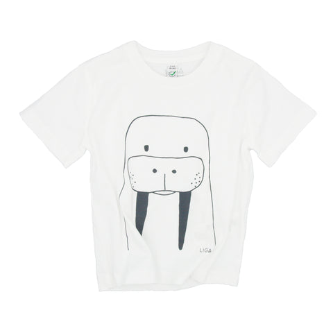 Childs Organic T Shirt | Walrus