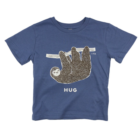 Childs Organic T Shirt | Sloth