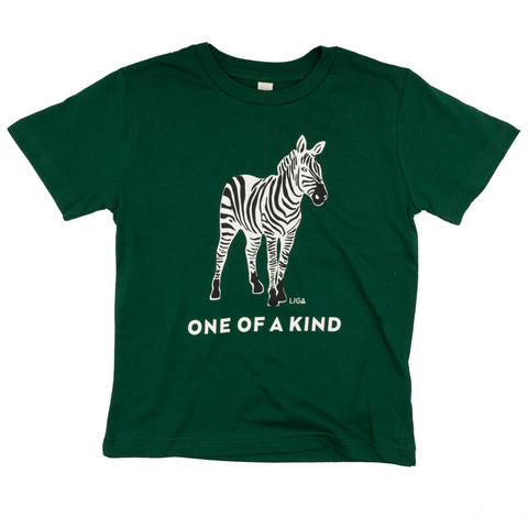 Childs Organic T Shirt | Zebra