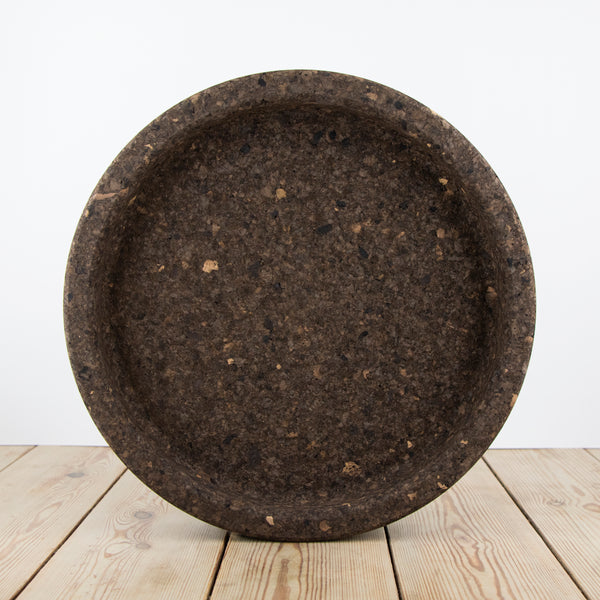 Smoked Cork Large Bowl