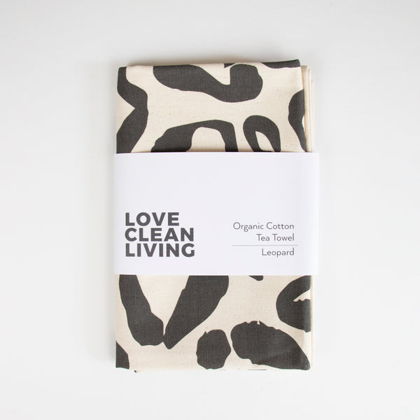 Love Clean Living Leopard Print Set