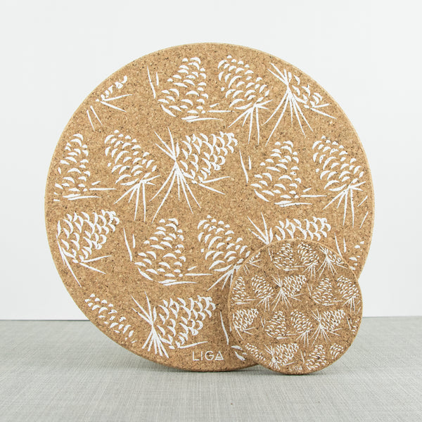 Cork Mats | Pinecones