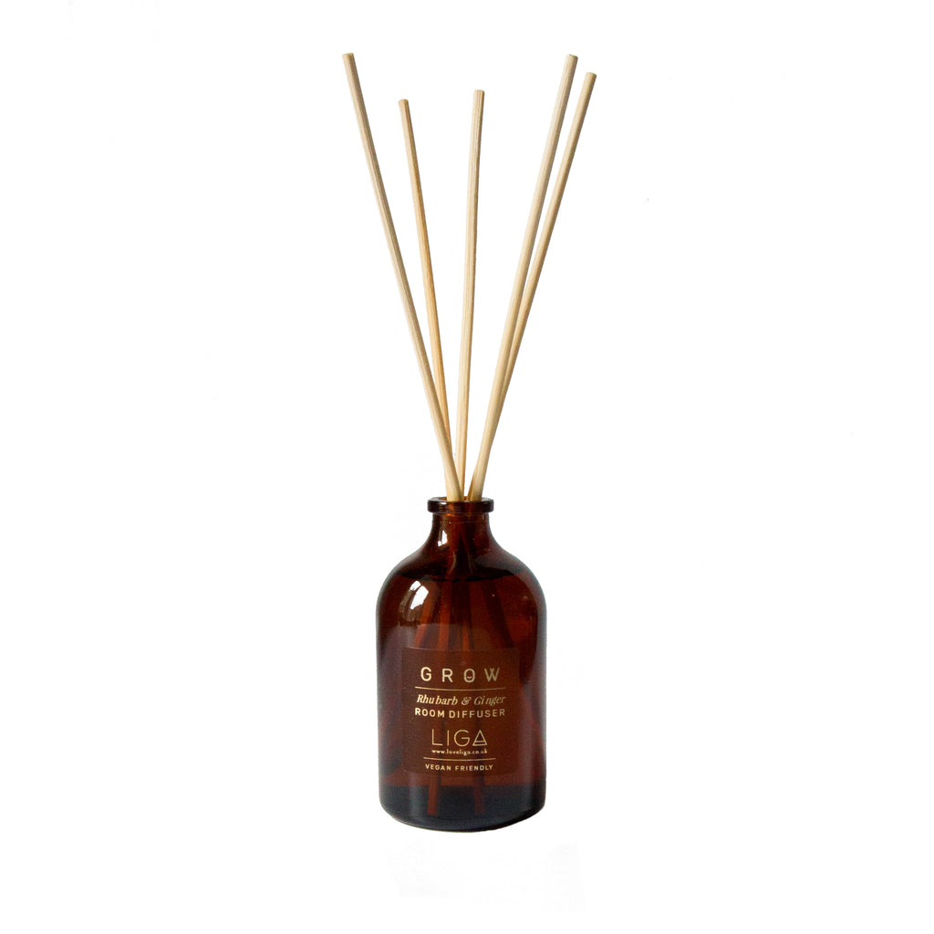GROW Rhubarb & Ginger Diffuser