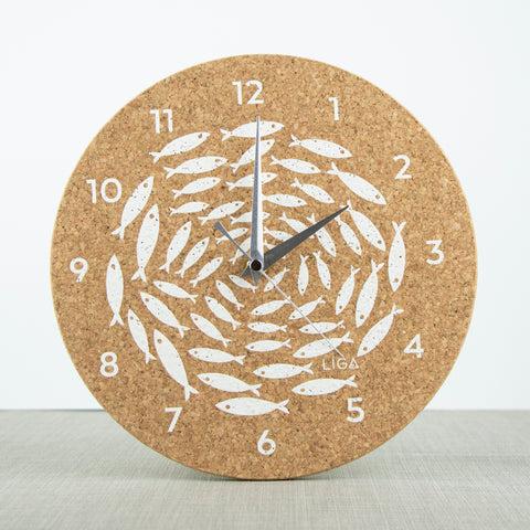 Fish Cork Clock