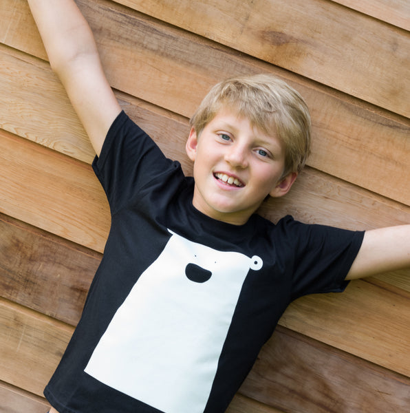Childs Organic T Shirt | Clueless Bear