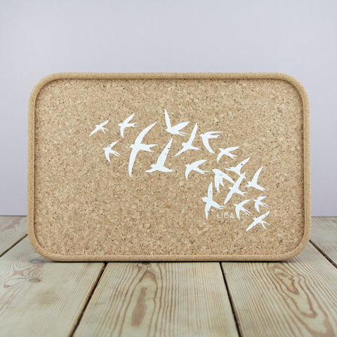 Cork Drinks Tray | Swallow