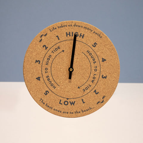 Cork Tide Clock | To The Beach