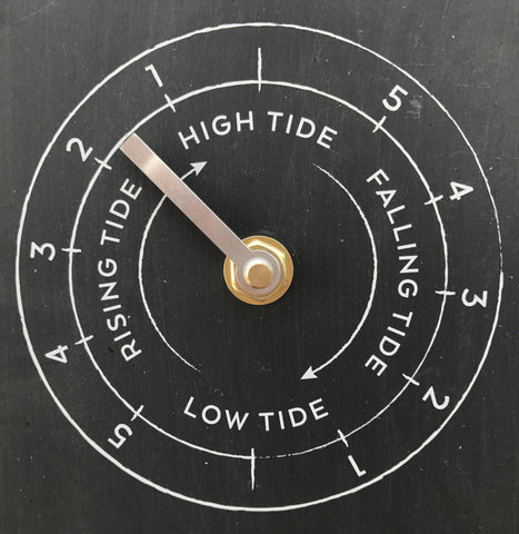 Moon, Tide & Time Clock