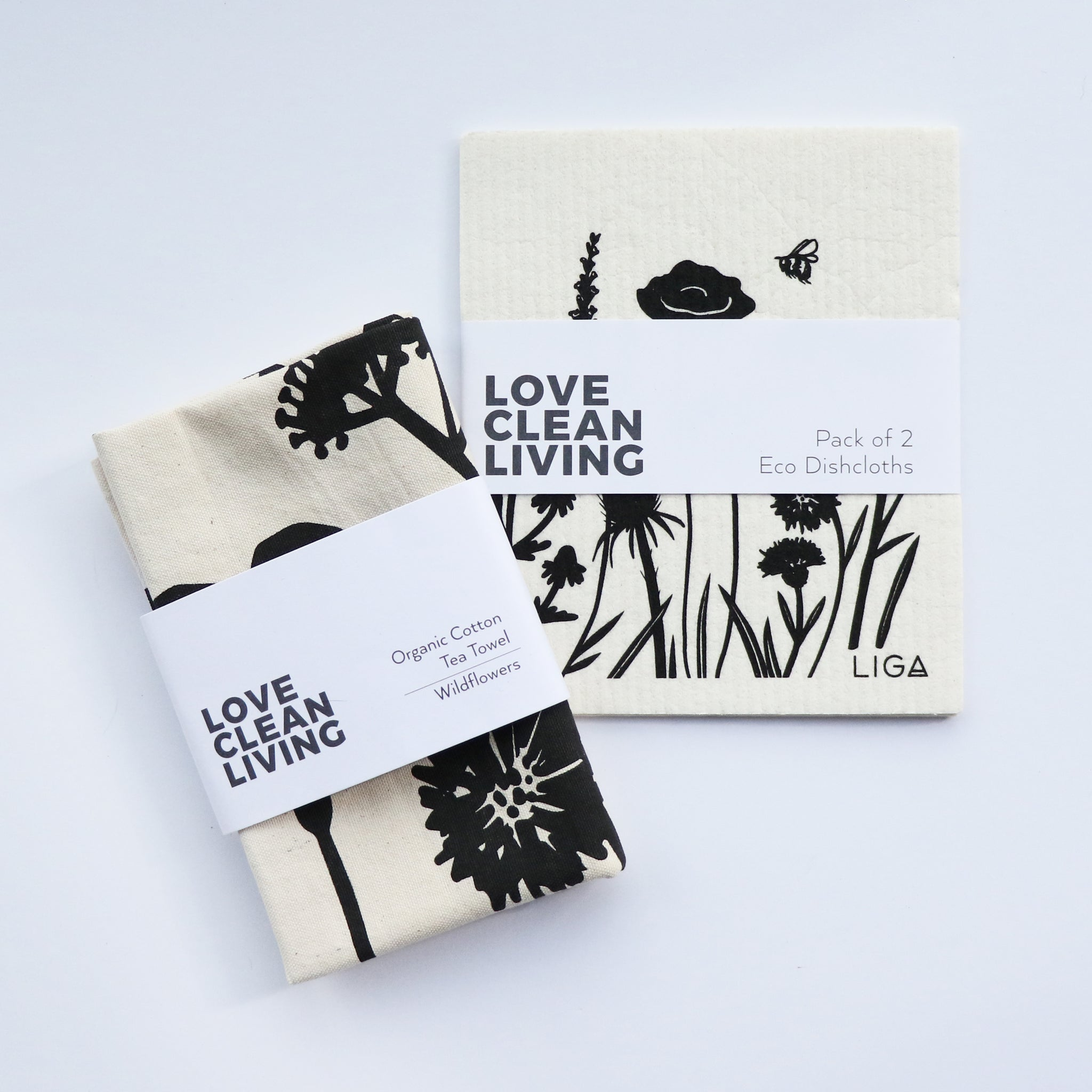 Love Clean Living Wildflower Set