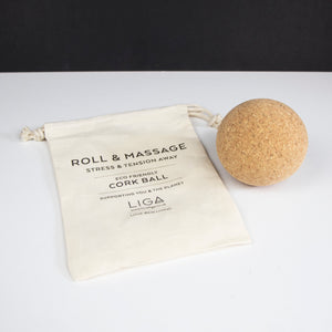 Cork Massage Ball Roller