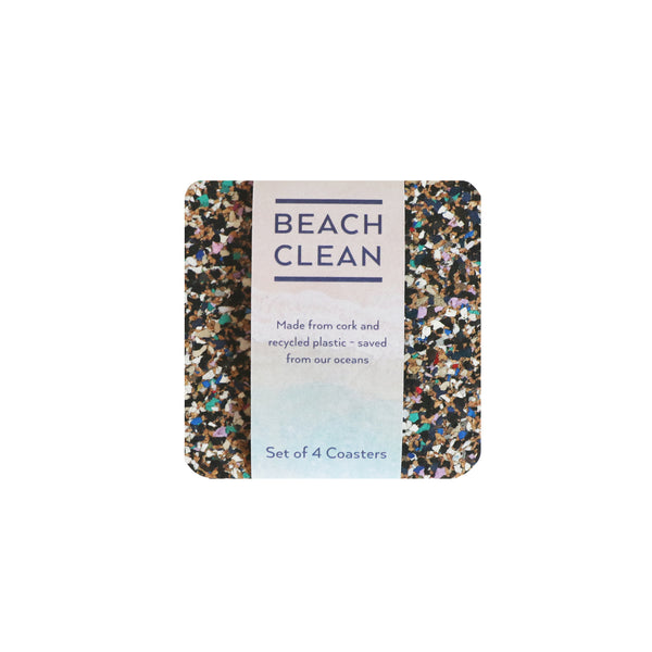 Beach Clean Coasters S/4