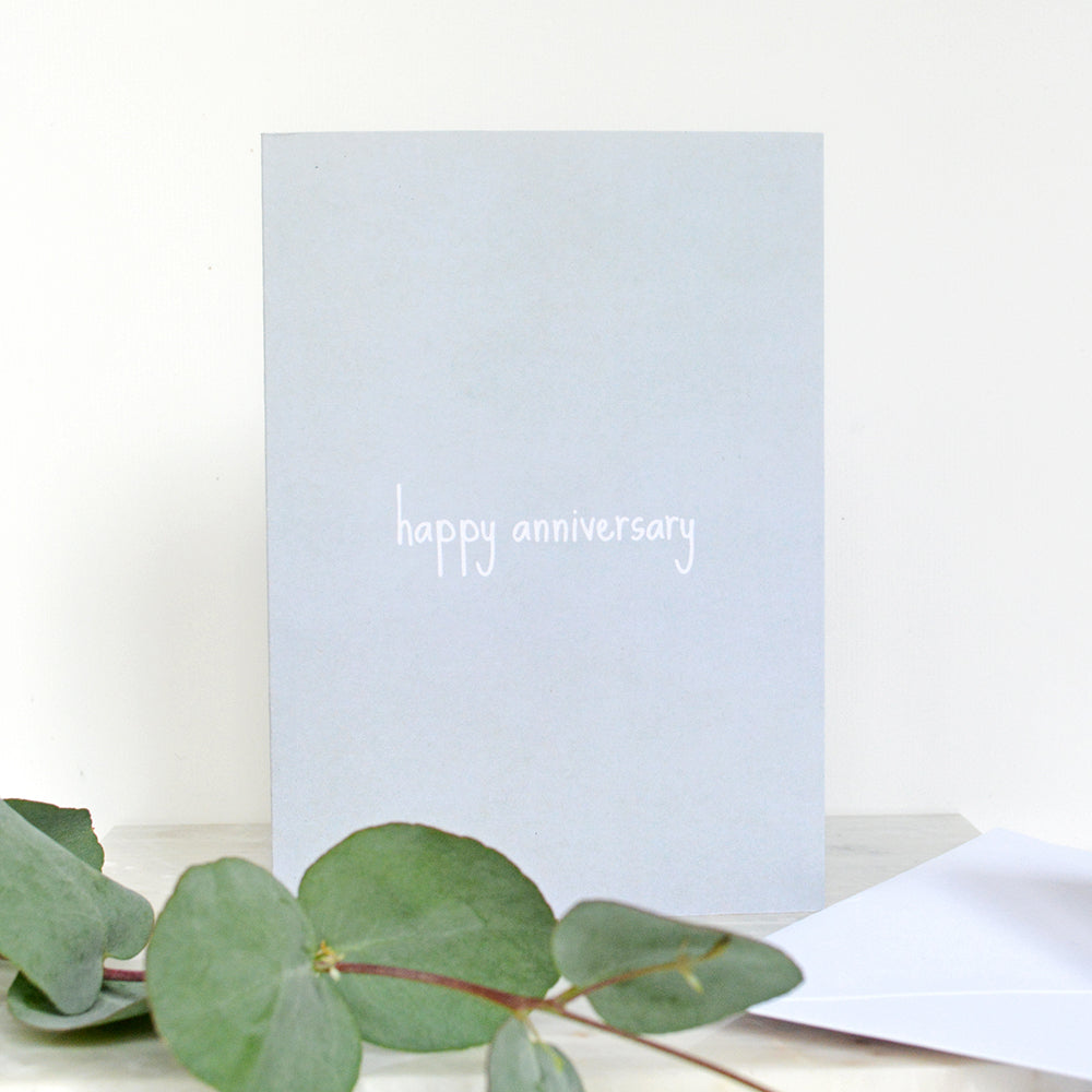 Small Words | Happy Anniversary Card