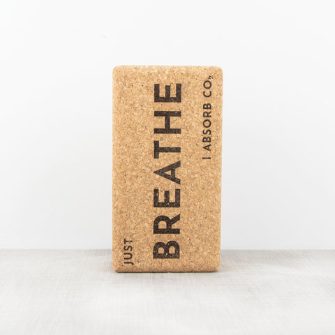 Cork Yoga Block | Breathe