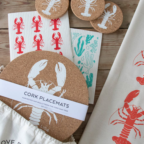 Lobster Collection Gift Set