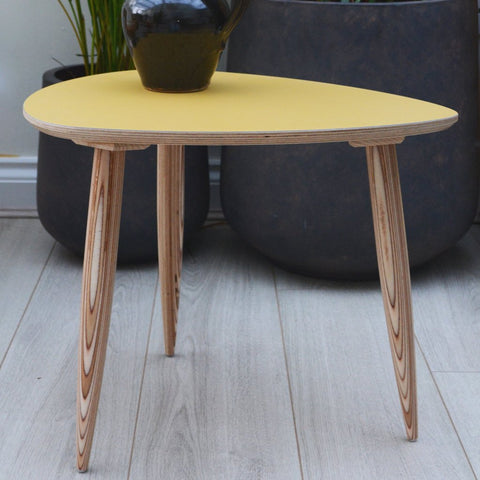 Pebble Side Table | Mustard