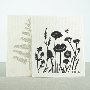 Eco Dishcloths Wildflower/Fern
