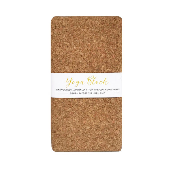 LIGA Sustainable Printed Eco Cork Yoga Block