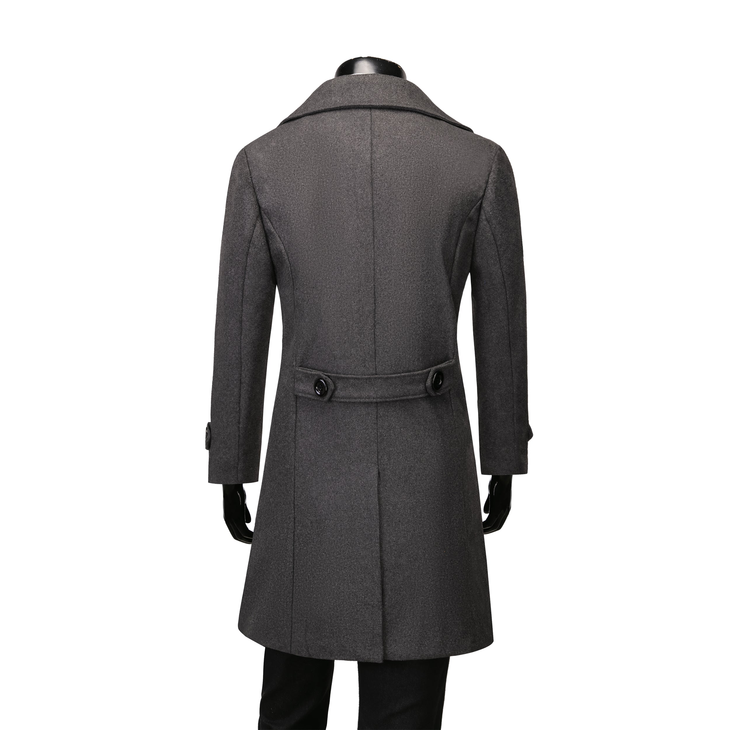 Frederick Duffle Coat - Blu Apparel