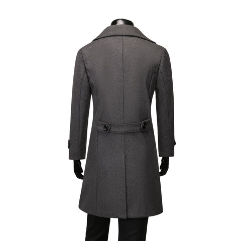 Frederick Duffle Coat - Grey
