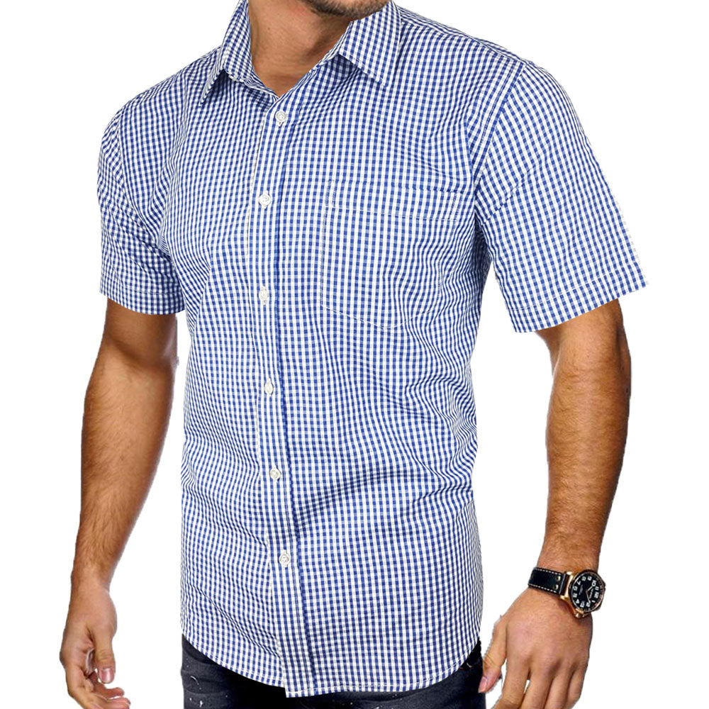 Thomas SS Shirt - Blu Apparel