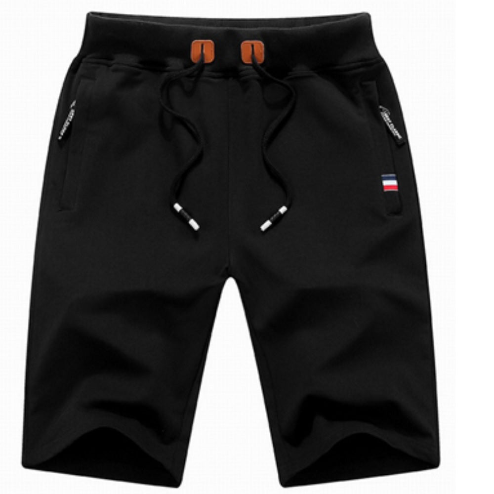 Mens Lounge Shorts - Black - Blu Apparel