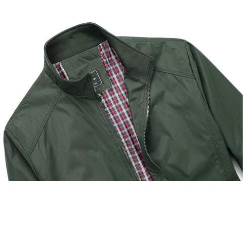 Falcon Harrington Jacket - Green