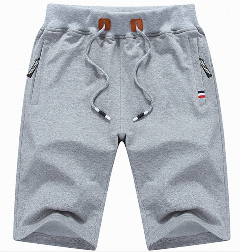 Mens Lounge Shorts - Grey - Blu Apparel