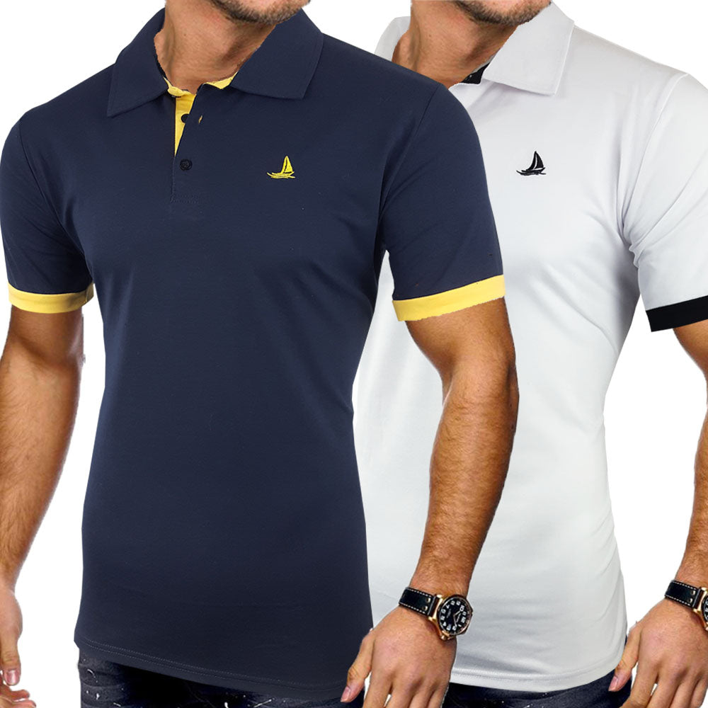 SS Finley 2 Pack Polo - Blu Apparel