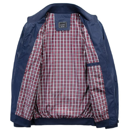 Falcon Harrington Jacket - Navy