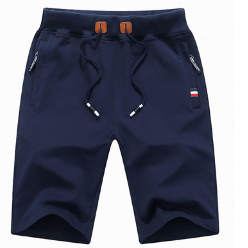 Mens Lounge Shorts - Navy - Blu Apparel