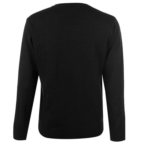 Pierre Cardin V Neck Jumper - Black