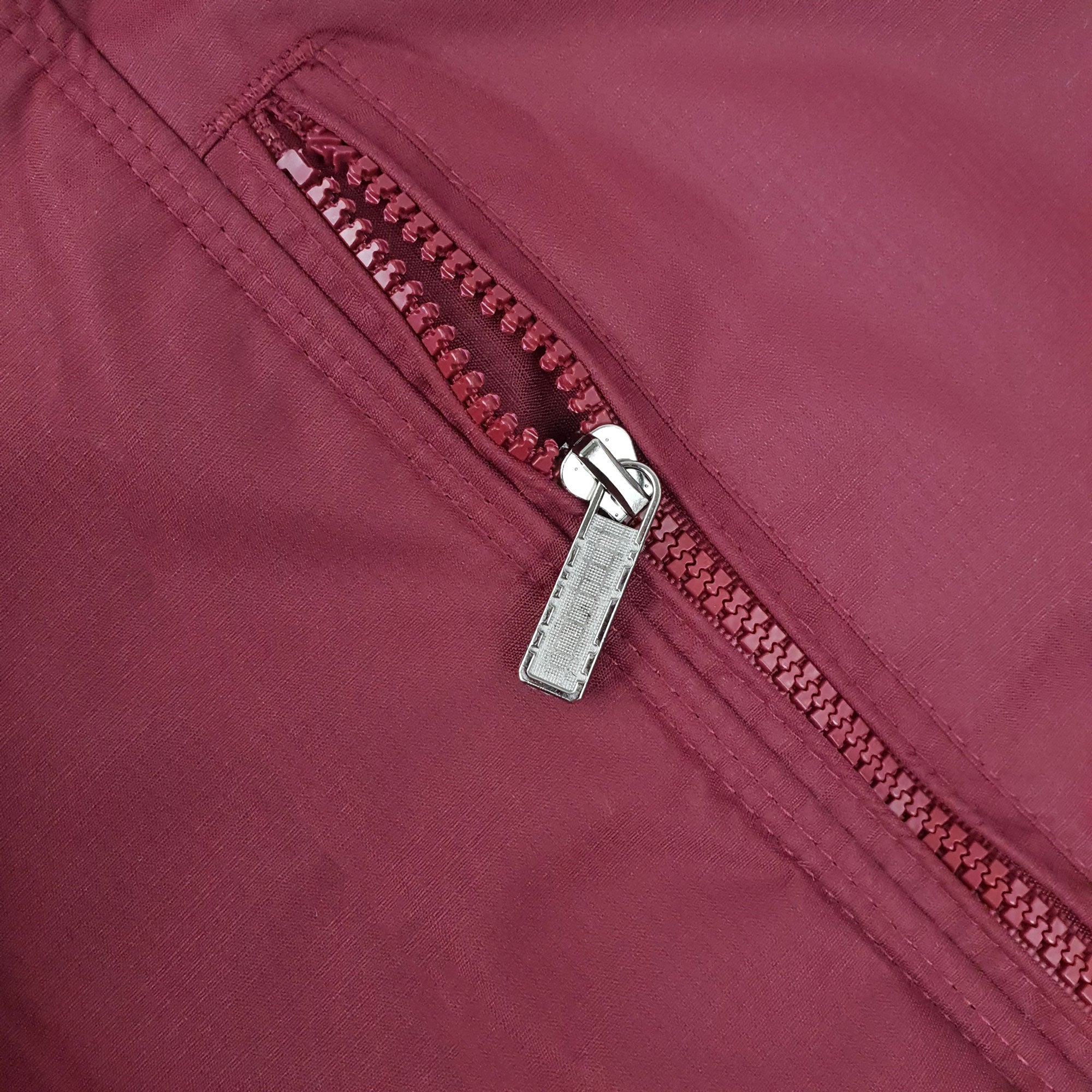 Falcon Harrington Jacket - Burgundy - Blu Apparel