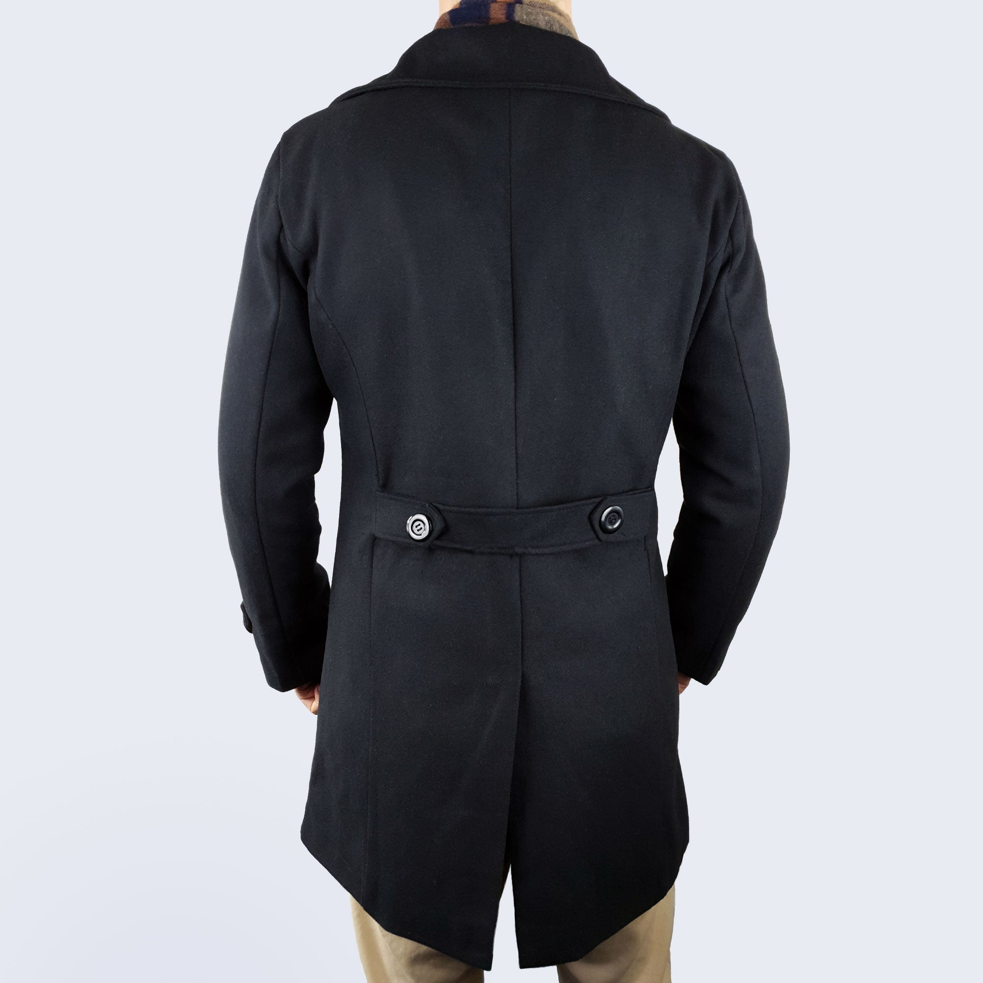 Frederick Duffle Coat - Black