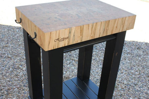 Heritage Workshop Butcher Block Islands