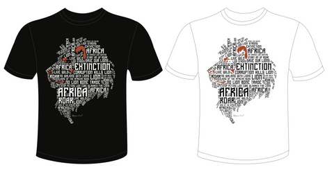 Roar for our African Lion Limited Edition T-shirts