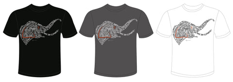 Limited Edition Official Elephant Extinction T-Shirt 2017 designed by Megan Carr