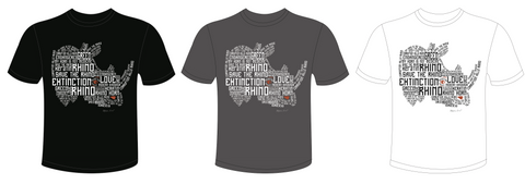 Every Single Rhino Counts Limited Edition T-shirt